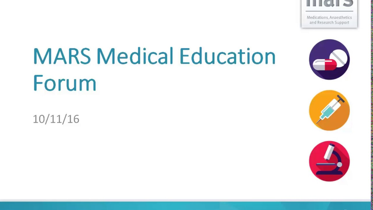 MARS Medical Education Forum: Session 2 | Our Digital Health Service