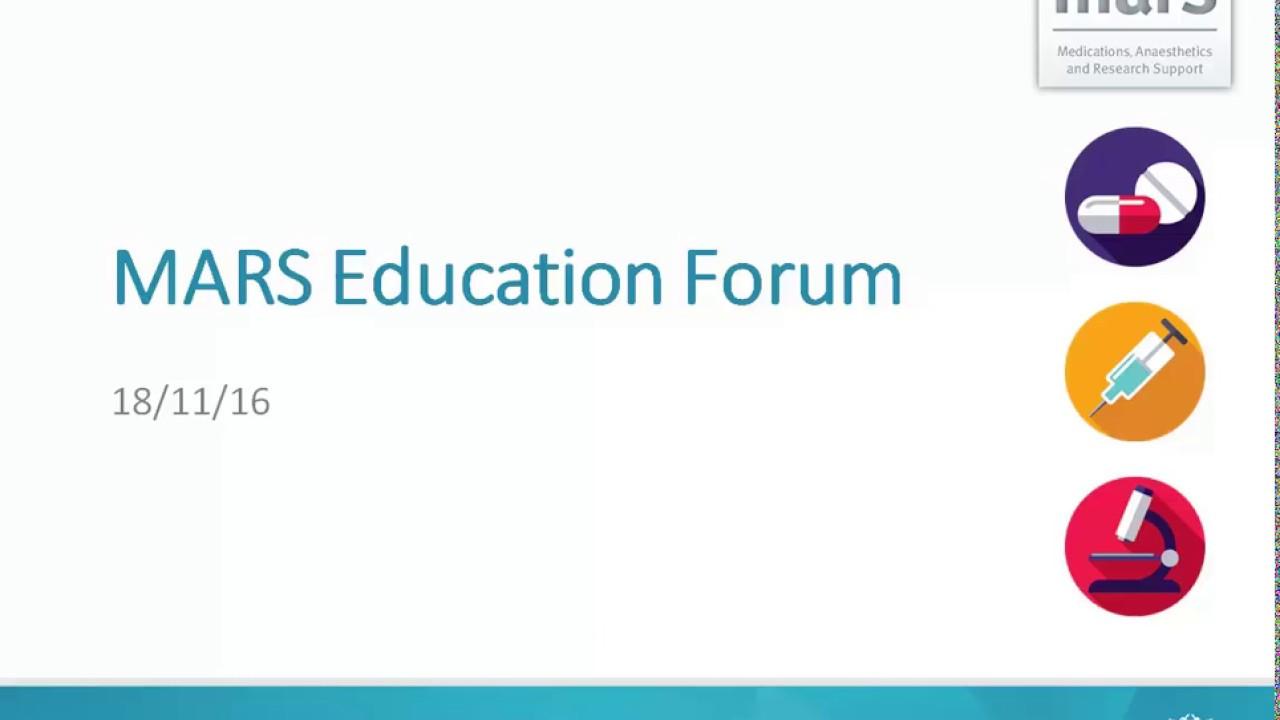 MARS Medical Education Forum: Session 3   Our Digital Health